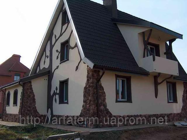 Отделка фасадов домов и коттеджей