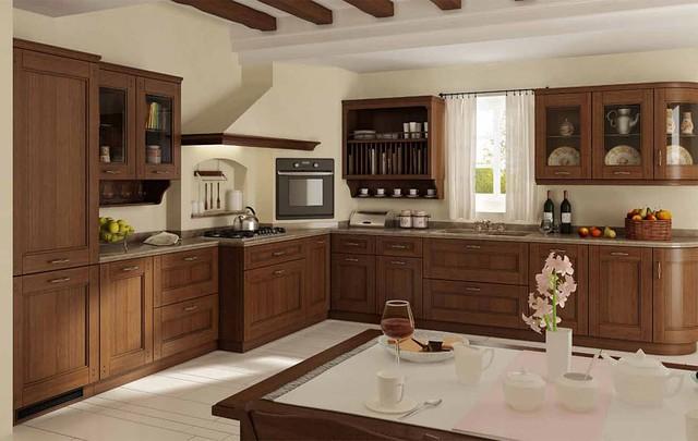 деревянные кухни на заказ киев фото